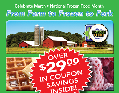 March Frozen Food Month Promotion