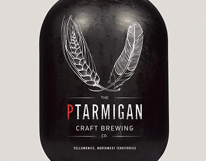 the Ptarmigan Craft Brewing Co. – Branding & Label