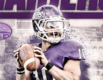 2014 Mount Union Football Program Covers