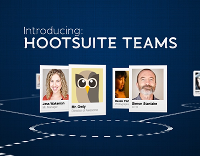 Hootsuite Teams, Feature Video Animation