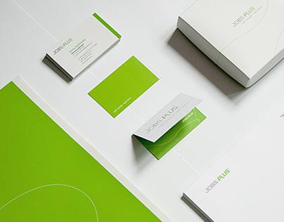 Jobs Plus - brand identity