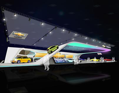 BIMOS 2012 Chevolet stand design plan