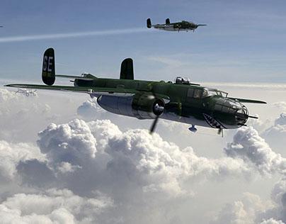 B-25 Mitchell - Glass nose