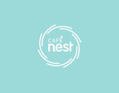 Mothercare café nest branding