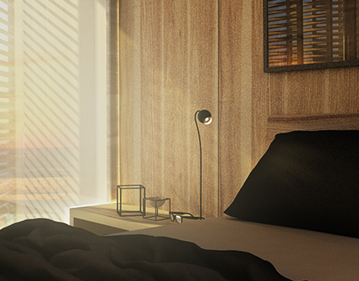 ''SOFT WOODS'' Bedroom conception