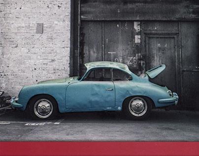 Brochure for Glinicke Classic Cars