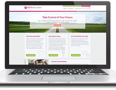 UW Flexible Option Homepage Design
