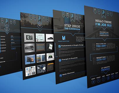 Design School Portfolio Site