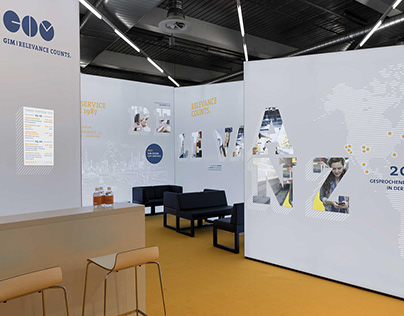 GIM Messestand Research & Results 2019