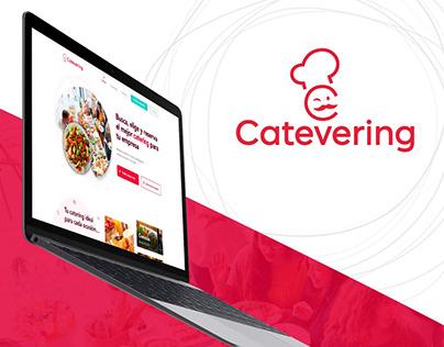 Catevering - Online catering sales platform.