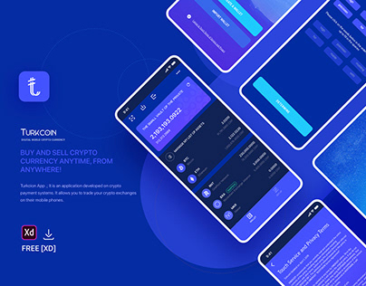 Turkcoin Crypto Currency App.