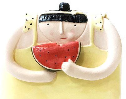 Summer Girls / Ceramic Sculptures