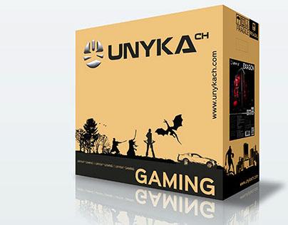 Packaging Computer Case Gaming UNYKAch