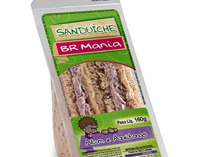 EMBALAGENS - BR MANIA - Sanduíche Natural