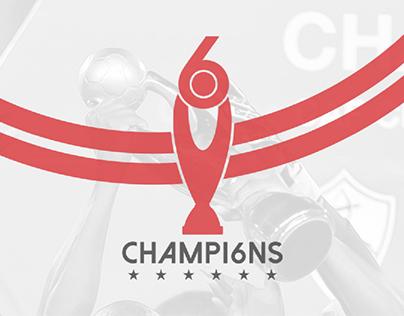 6th Championship Logo For Zamalek SC