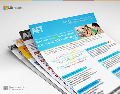 Flyer Design | Microsoft Courses