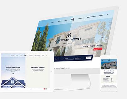 Marineau Vennes - Website