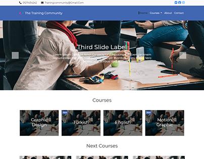 Training Community Website