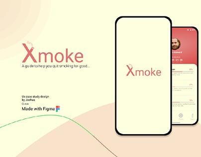 Xmoke App Ux design