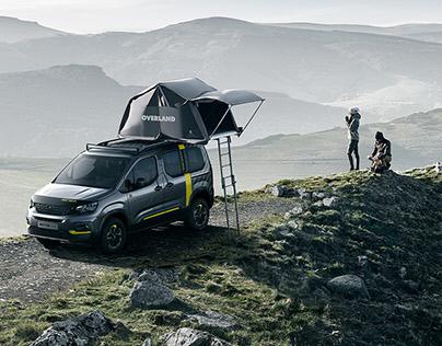 Peugeot Rifter 4x4 Concept + CGI