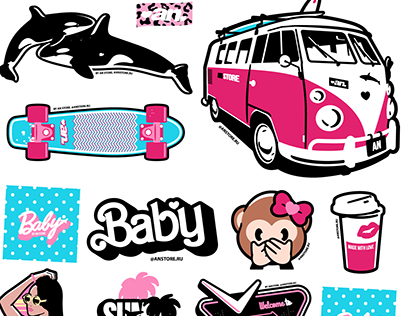 AN STICKERS