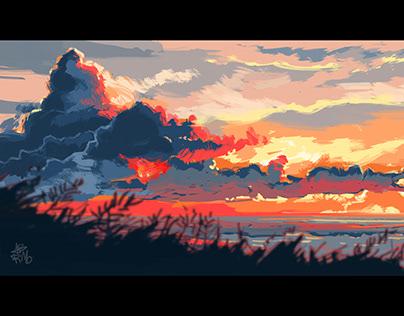 Eventide Digital Painting