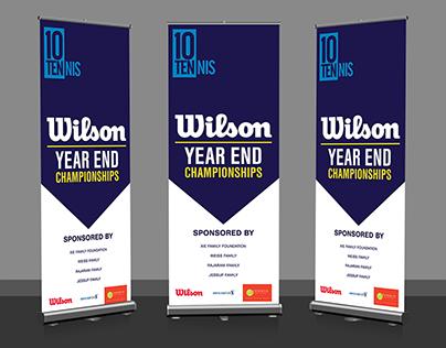 10 Tennis Wilson Year End Championships