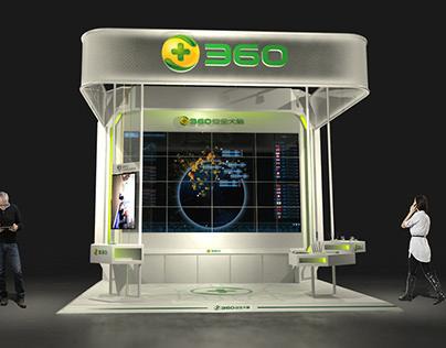 QIHOO 360 booth