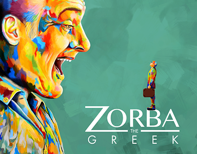 """Zorba the Greek"". A poster for the Broadway Musical"