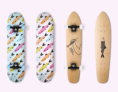 Herring – Skateboard Artwork
