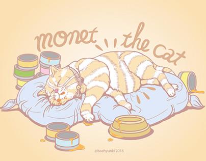 monet the cat