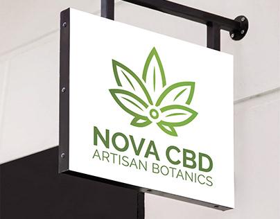Cannabis CBD Oil - Logo & Packaging
