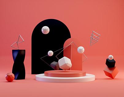 3D Environment - Shapes