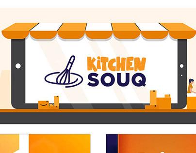E-commerce Website ( Kitchen Souq ) Website Home Applia