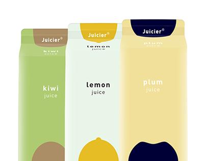 Juicier juice | Packaging