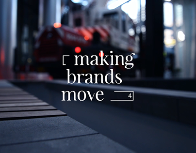 Making Brands Move - Cinematography