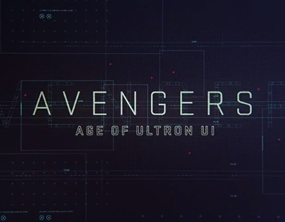 AVENGERS: Age of Ultron  [UI Reel]