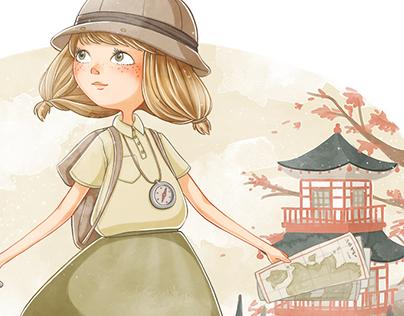 Explorer Girl - Character Design