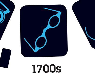 Eyeglasses Infographic