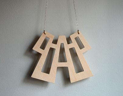 Art Neco Necklace