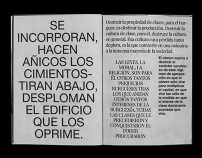 Manifiesto Comunista. Fanzine
