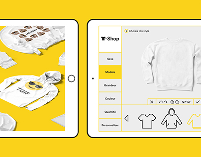 T-SHOP — App Design