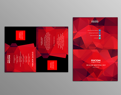 Print Design - RICOH Vietnam's Dealer Meeting 2015