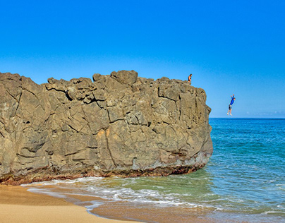 Oahu Cliff Jumpers