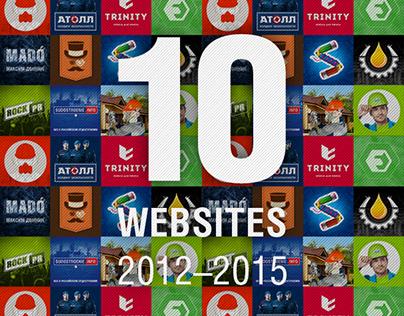 10 Websites   2012-2015