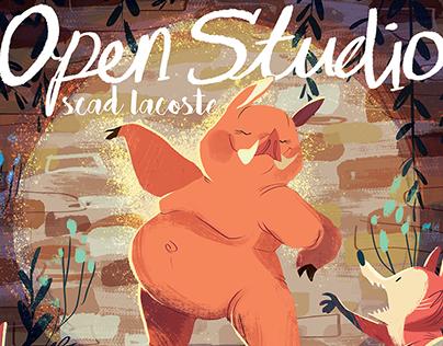 Hammy Figure Drawing- Open Studio
