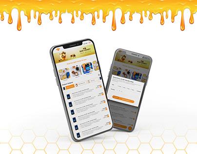 Raw Honey mobile app