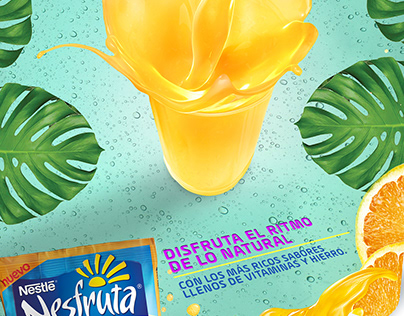 Nesfruta - Disfruta lo natural- TV and Print