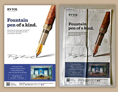 Rytol | Times of India Full Page Ad