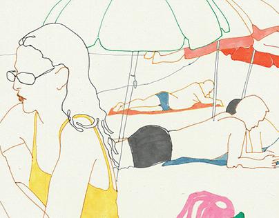 Sketchbook - BATUMI 2021